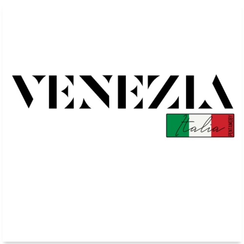 VENEDIG VENEZIA ITALIA ITALIEN URLAUB (poster) - Poster 60x60 cm