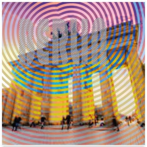 Erorxshirts city poster Berlin 1 - Poster 60x60 cm