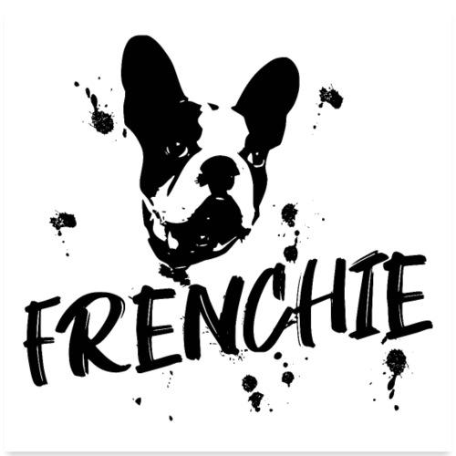 POSTER Französische Bulldogge Frenchie / Bulldog - Poster 60x60 cm