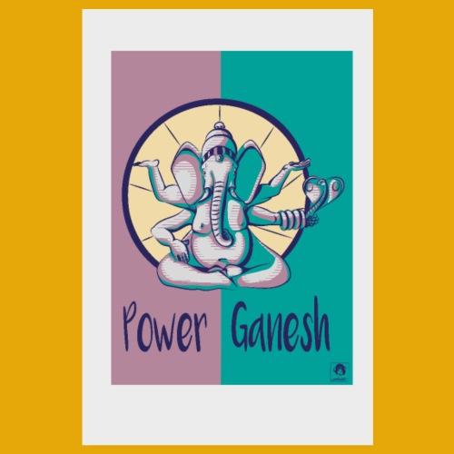 Power Ganesh - Poster 20 x 30 cm
