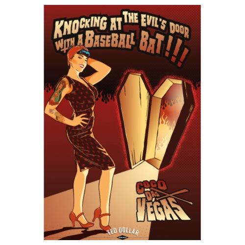 Coco Das Vegas - Poster 20 x 30 cm