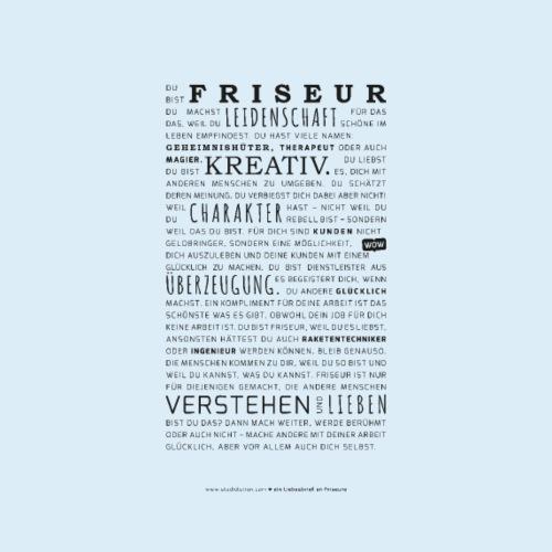Liebesbrief an Friseure - Poster - Poster 20x30 cm