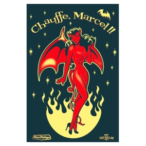 Chauffe Marcel - Poster 20 x 30 cm