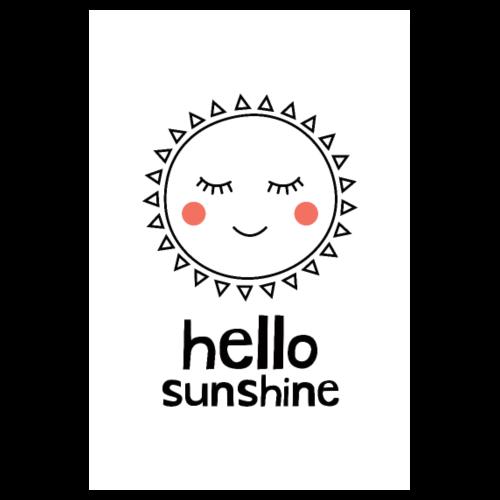 Hello Sunshine - Poster 8 x 12