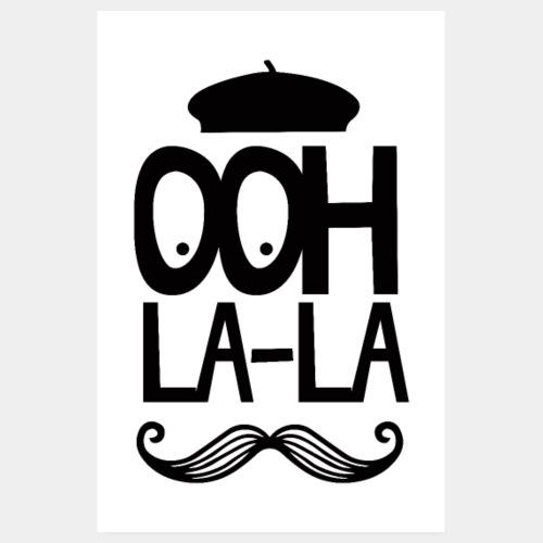 French Ooh La La - Mustache