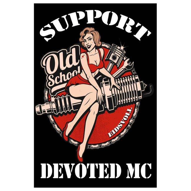 Poster DEVOTED MC Portret OLD SCHOOL