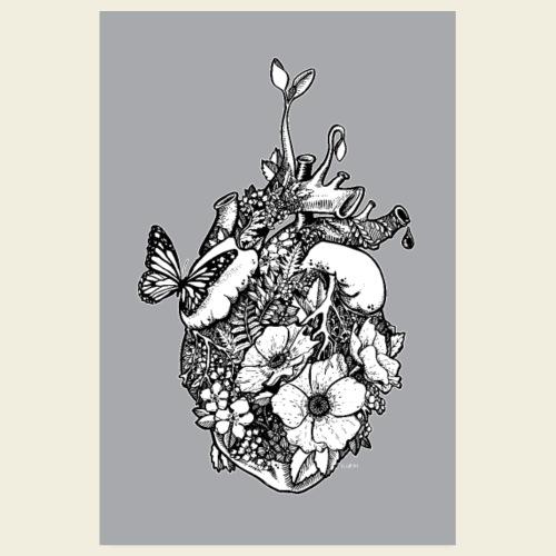 Ans Herz gewachsen - Plakat - Poster 20x30 cm