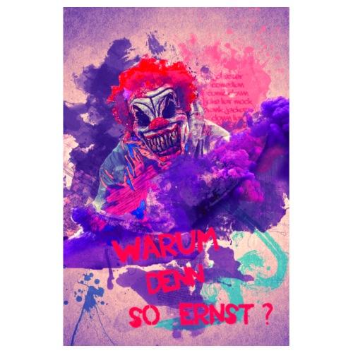 Joker - Warum Denn So Ernst? - Poster 20x30 cm