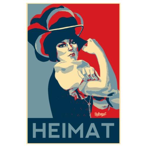 HEIMAT Schwarzwaldmädel Rosi - Poster 20x30 cm