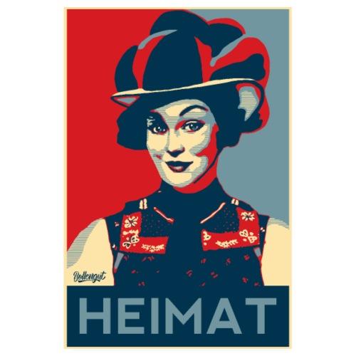 HEIMAT Schwarzwaldmädel Anna - Poster 20x30 cm