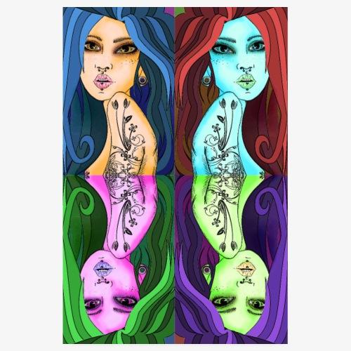 women pop art - Poster 20 x 30 cm