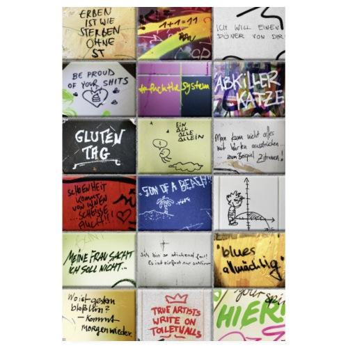 Klosprüche POSTER 60x90 - Poster 20x30 cm