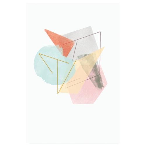 Colours four - Poster 20x30 cm