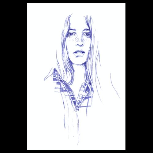 Sommersprossen - Farmgirl von hey K - Poster 20x30 cm