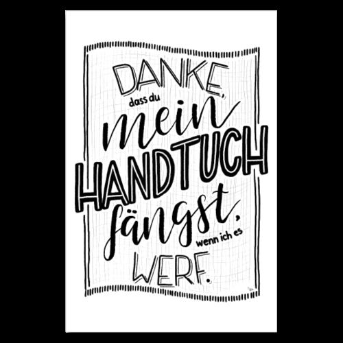 Handtuch - POSTER - Poster 20x30 cm