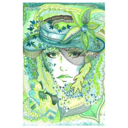 Tant Grön Poster