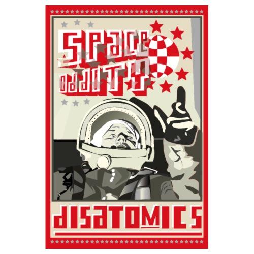 Astronaut-Plakat - Poster 20x30 cm