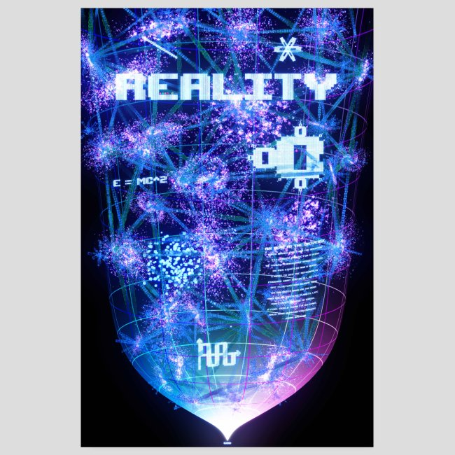 Reality: Typography Poster