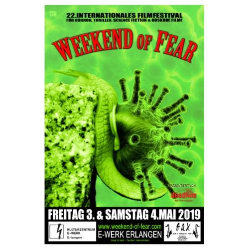 Weekend of Fear 2019 - Poster #1 - Festivalplakat - Poster 20x30 cm
