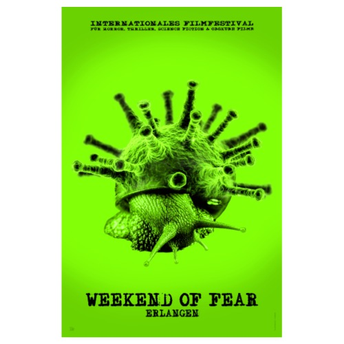 Weekend of Fear 2019 - Poster #2 - Viral Schneck - Poster 20x30 cm