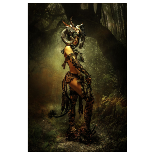 Demon in a wood - Poster 8 x 12