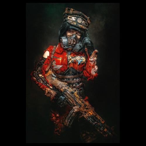 Security Portrait - Poster 8 x 12