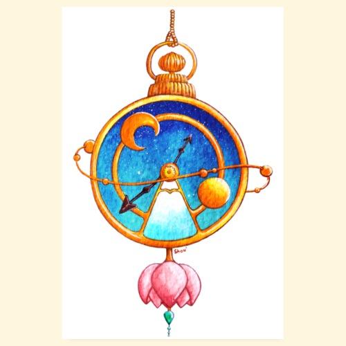 Montre Magique Steampunk - Poster 20 x 30 cm