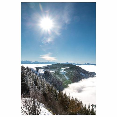 Mer de nuages depuis le Mont Revard - Poster 20 x 30 cm