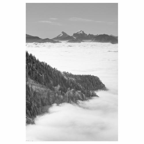 Mer de nuages depuis le Revard - Poster 20 x 30 cm