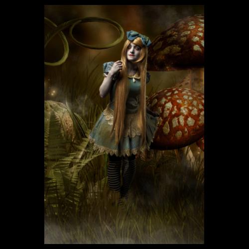 Dark Wonderland - Poster 8 x 12 (20x30 cm)