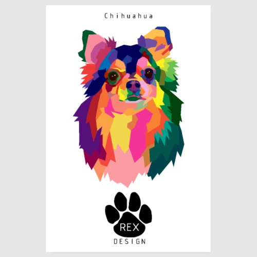 Oh Chihuahua - Poster 8 x 12 (20x30 cm)