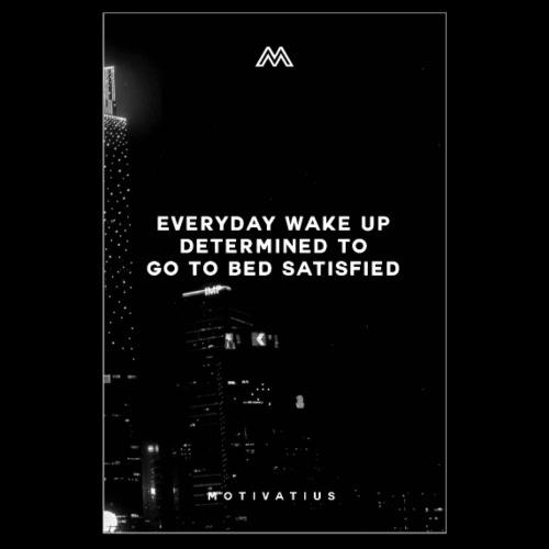 Motivation for Waking up /Motivation zum aufstehen - Poster 20x30 cm