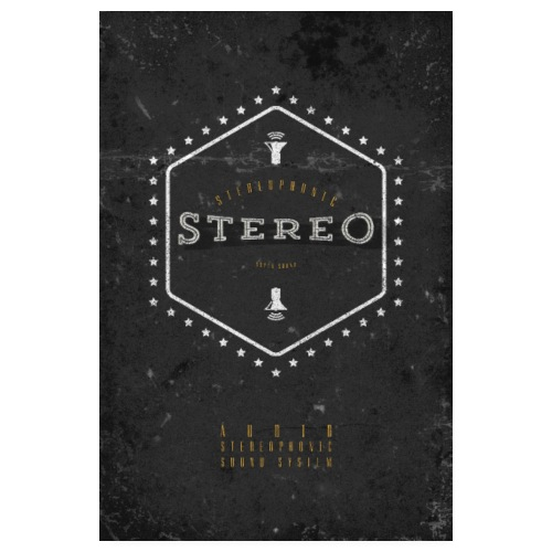 Stereo Super Sound - Poster 20x30 cm