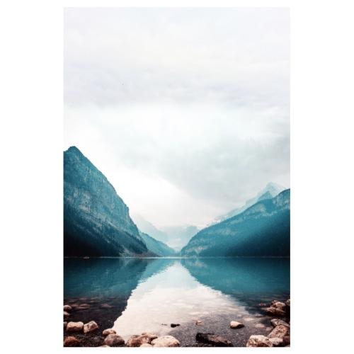 Esprit Lac Zen - Poster 20 x 30 cm