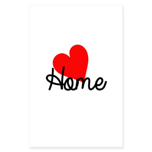 Home - Poster 20x30 cm