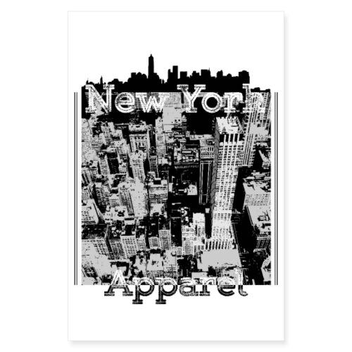 New York Apparel - Poster 20x30 cm