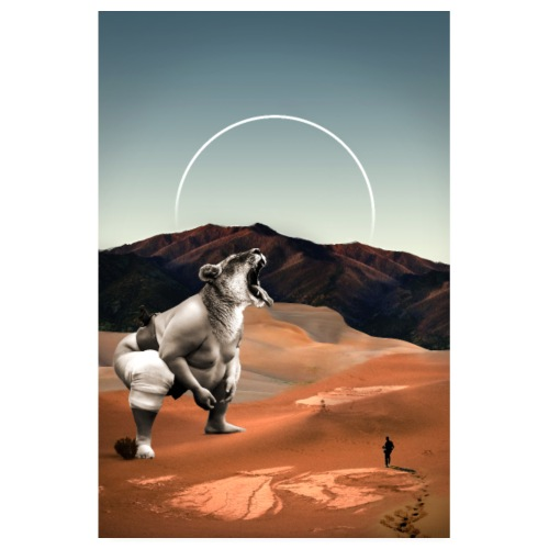Desertlion - Poster 20x30 cm