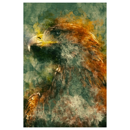 Eagle Aigle Poster - Poster 20 x 30 cm