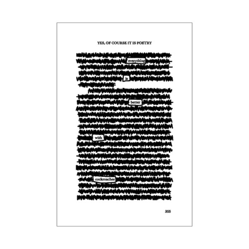 Yes, Of Course it is Poetry - Poster 20x30 cm