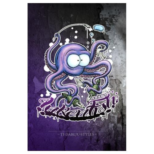 Poster Inkenfish - Poster 20x30 cm