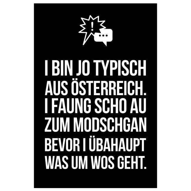 Vorschau: Klassiker Sprüche - Poster 20x30 cm