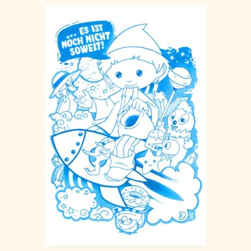 Unser Sandmännchen, Pittiplatsch und Freunde - Poster 20x30 cm