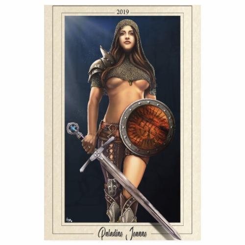 La Paladine Jeanne - Poster 20 x 30 cm
