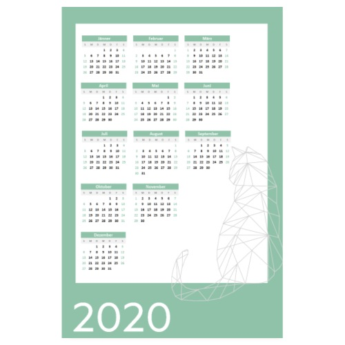 2020 - Poster 20x30 cm