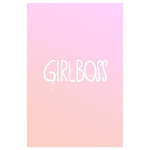 Girlboss - Poster 20x30 cm