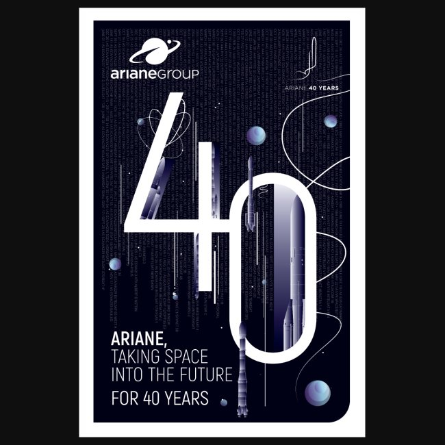 40 years Ariane by Mathilde Magnon