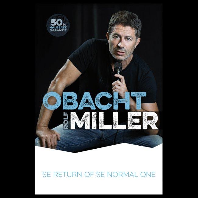 OBACHT MILLER - Das Poster