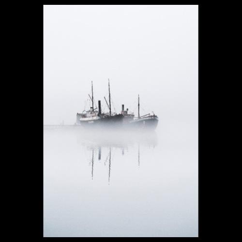 Usvainen museolaiva - Juliste 20x30 cm