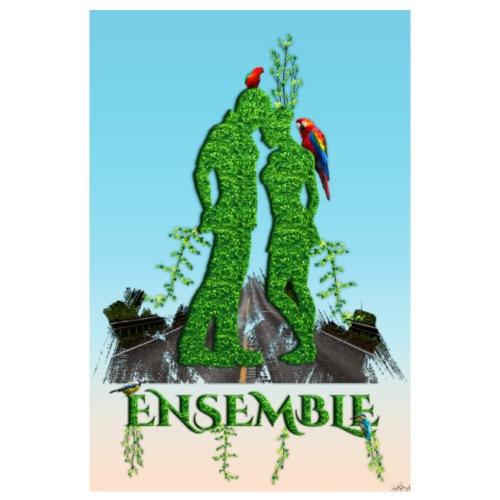 Affiche - Ensemble amour nature - Poster 20 x 30 cm