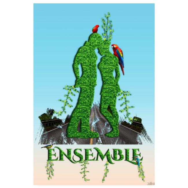 Affiche - Ensemble amour nature